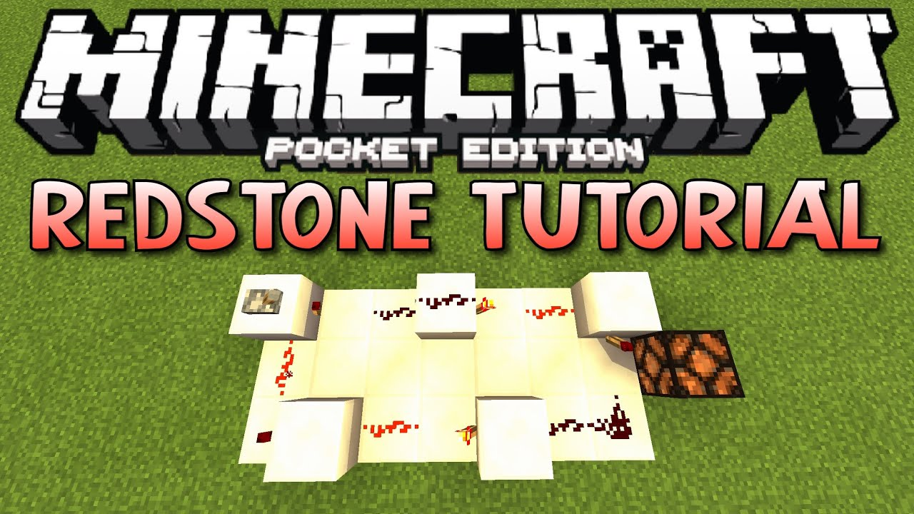 how to build a clock in minecraft pe