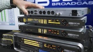 DB6400 - Advanced FM and Digital Radio 4-Band Audio Processor with Backup Audio Player