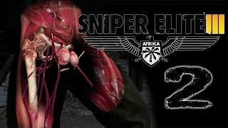 THE ELUSIVE TESTICLE SHOT | Sniper Elite 3 - Part 2