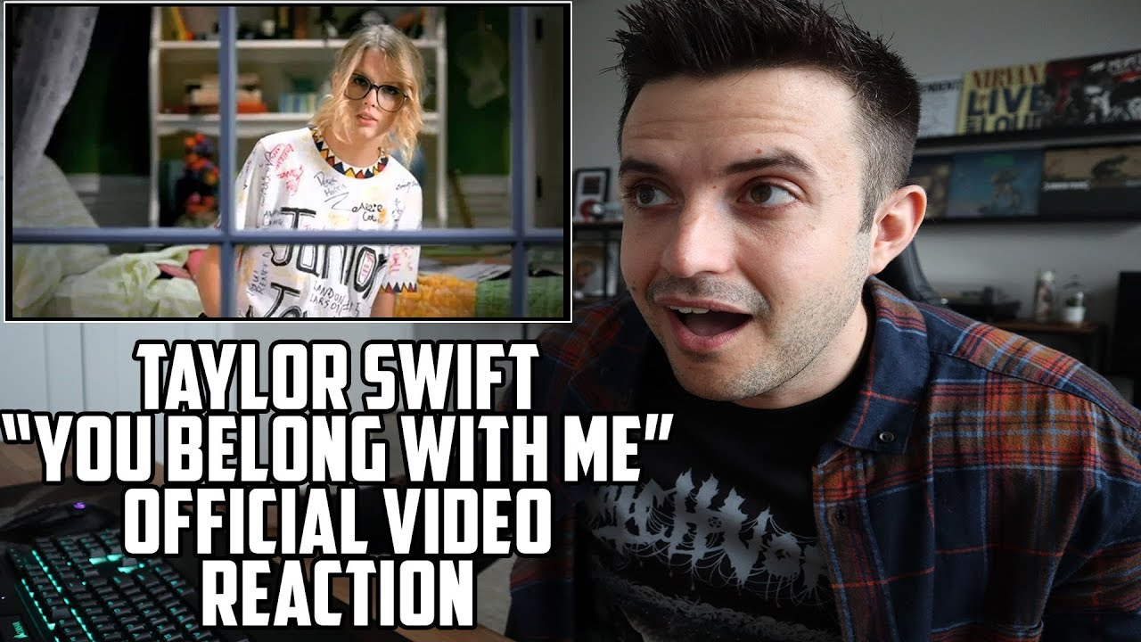 Download Taylor Swift - You Belong With Me Video - Reaction