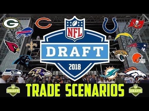 2018 NFL Draft TRADE SCENARIOS - NFL DRAFT TRADE RUMORS & PREDICTIONS Browns Bills Packers Bears
