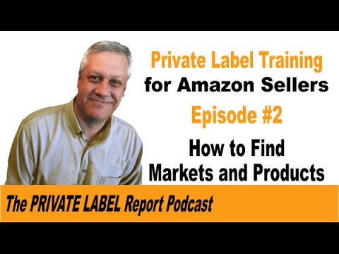 Amazon Private Label Selling Tutorial - How to find markets and Products