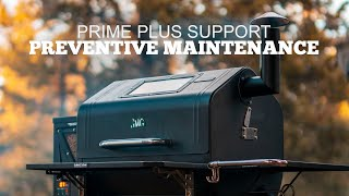 Preventive Maintenance  |  Prime Plus Support  |  Green Mountain Grills