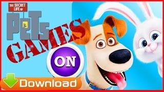 Макс и Лиза Тайная жизнь домашних животных 2016 Видео игра для детей Обзор Жизнь щенят вечеринка