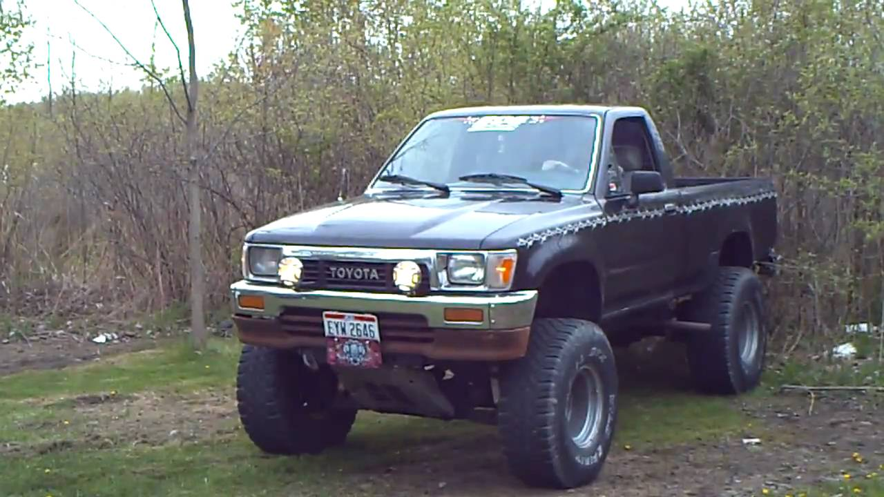 lost rebel 39 s truck 1989 toyota 4x4 youtube. Black Bedroom Furniture Sets. Home Design Ideas
