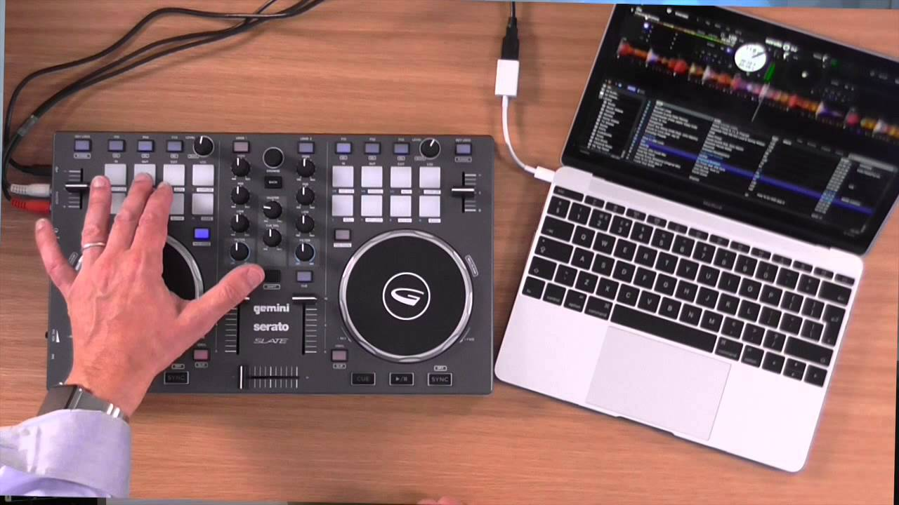 Gemini Slate 2 Serato DJ Controller  YouTube
