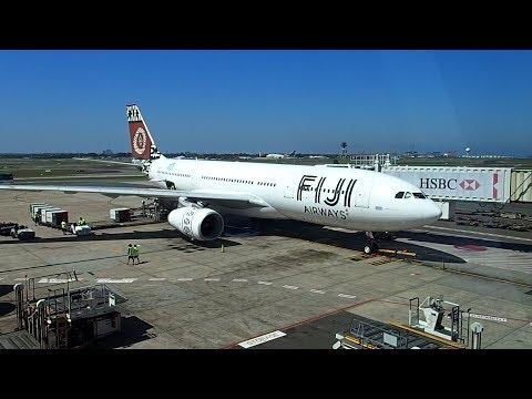 Fiji Airways Sydney to Nadi A330-200 Business Class