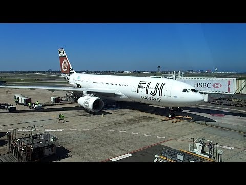 Fiji Airways Sydney To Nadi A330-200 Business Class