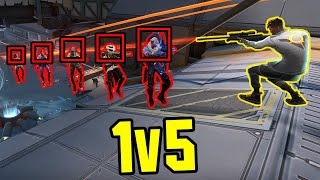 When VALORANT Players 1v5 The IMPOSSIBLE...