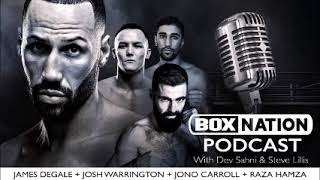 BoxNation Podcast Ep 18 🎙 James DeGale calls Truax rematch the most important fight of his career
