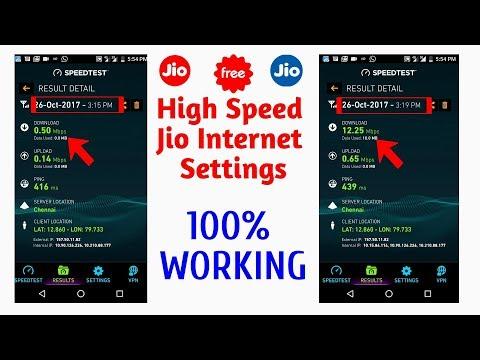 How to increase Jio internet speed?Jio New APN and Server - High Speed Jio Internet Settings - 동영상