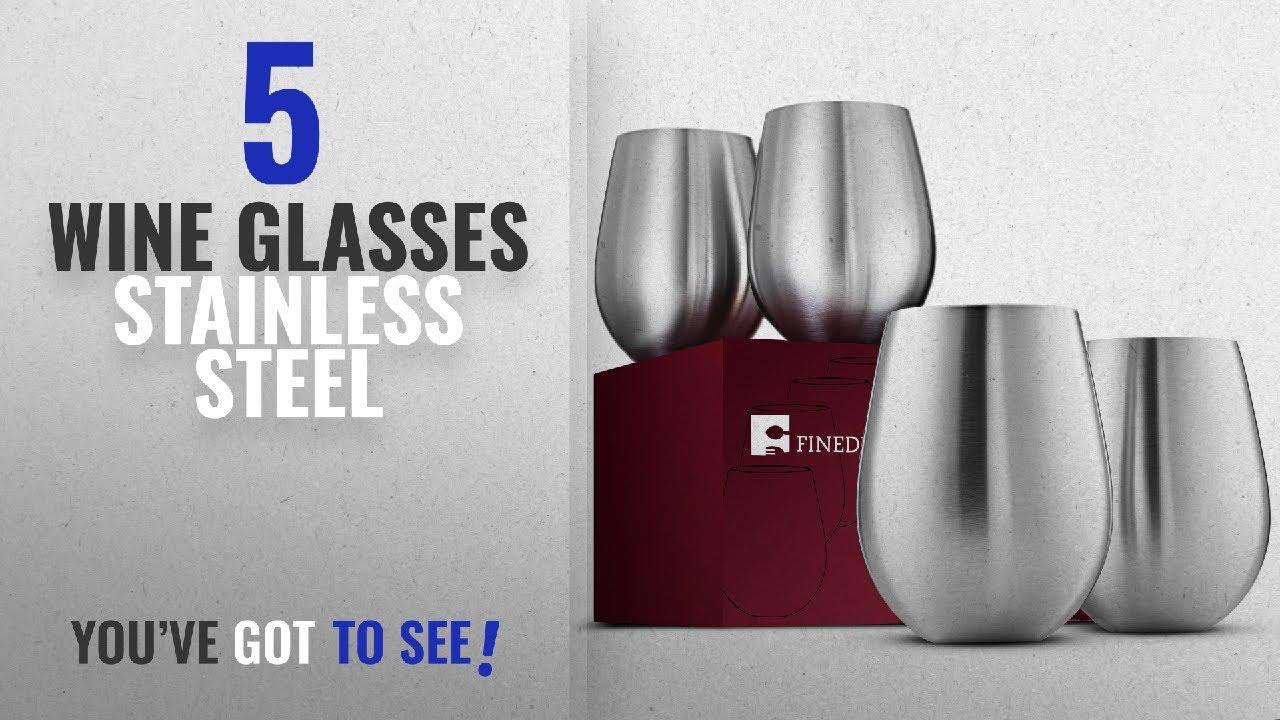 740bd7671896 Best Wine Glasses Stainless Steel [2018]: Stainless Steel Wine ...
