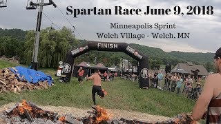 Spartan Race Minneapolis Sprint 2018 (All Obstacles)