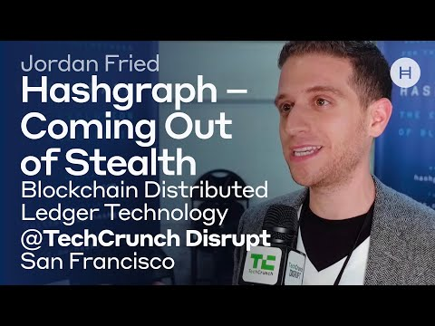 Hashgraph - Coming Out of Stealth @ TechCrunch Disrupt SF Blockchain Distributed Ledger Technology