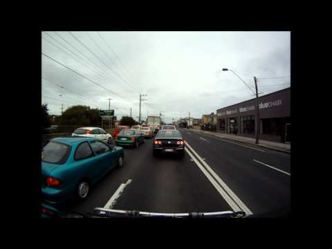 From Melbourne to Sorrento (VIC - Australia) in 5 minutes with the Go Pro on my van