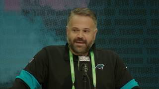 Matt Rhule Is Excited To Work w/ Cam Newton   Carolina Panthers
