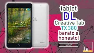 Tablet DL Creative Tab TX380 - Baratinho e honesto Review