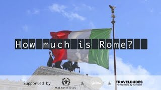 Things to do in Rome in one day (Rome Guide & Budget Check)
