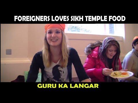 Foreigners Love Sikh Temple Food | Guru ka Langar | Free Food Langar Sewa