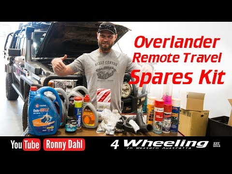 Overlander Remote Travel Spares Kit