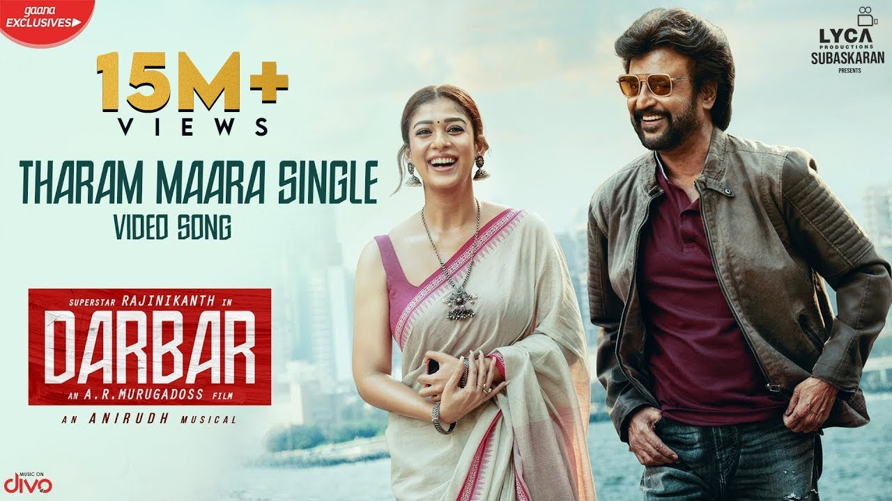 DARBAR (Tamil) - Tharam Maara Single (Video Song) | Rajinikanth | AR Murugadoss | Anirudh