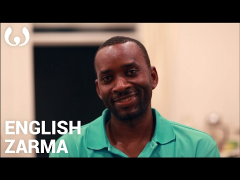 WIKITONGUES: Aboubacar speaking English and Zarma