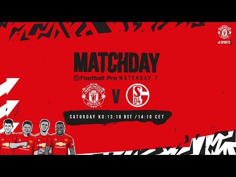 esports | eFootball.Pro | Manchester United v Schalke 04 | LIVE SAT 13:10 BST 14:10 CET | PES 2021