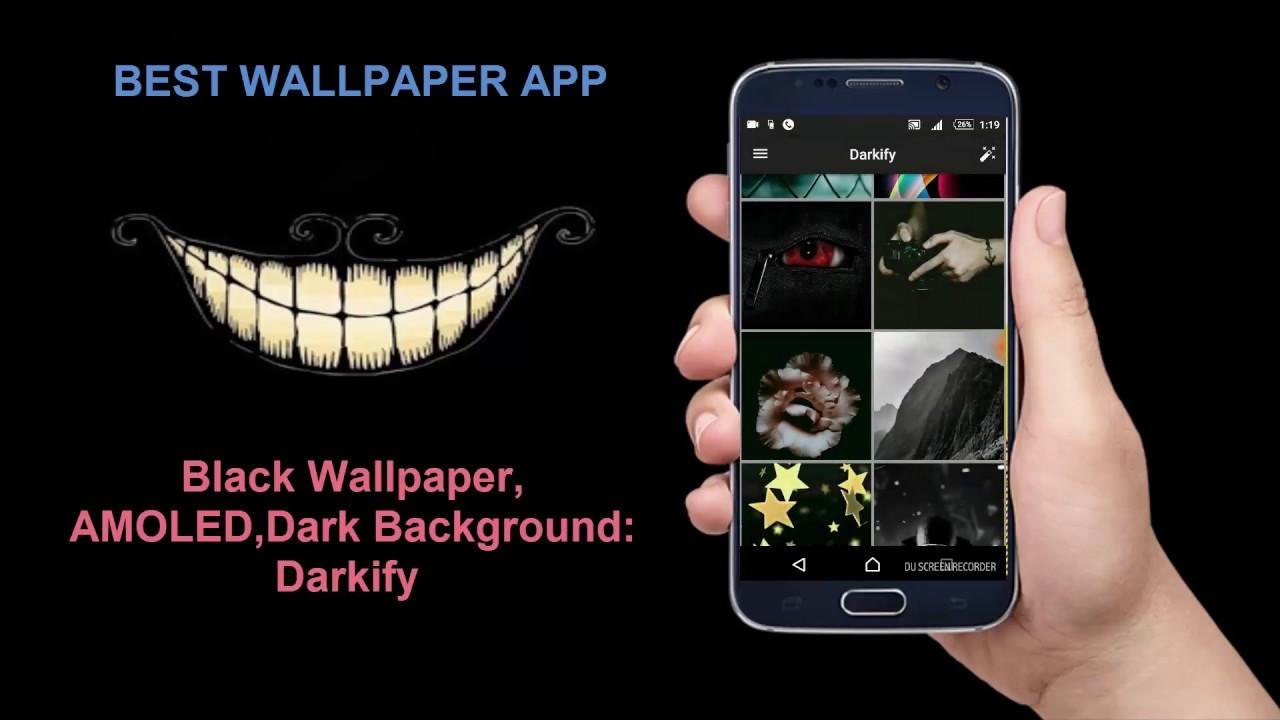best black hd wallpaper android app , amoled, dark background