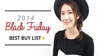 Best Buy List for 2014 Black Friday Deals | Wishtrend