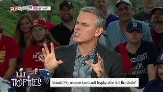 Lombardi Trophy... How about The Belichick Trophy? | SPEAK FOR YOURSELF