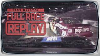NASCAR Classic Full Race: Dale Earnhardt vs. Terry Labonte, Round 1   1995 Bristol Night Race