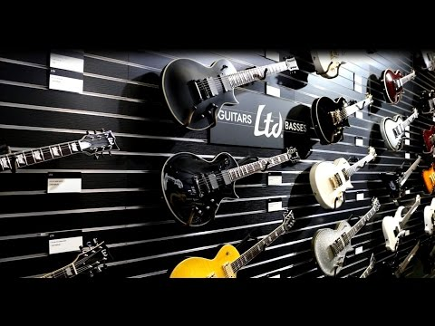 NAMM 2015 - ESP Guitar Company - Booth Walkthrough