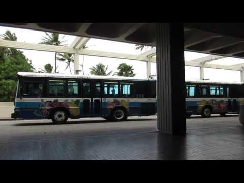 Wiki Wiki Shuttle Honolulu International Airport Oahu Hawaii