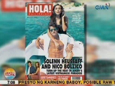 UB: Solenn Heussaff, ipinakilala ang Argentinian boyfriend sa magazine feature