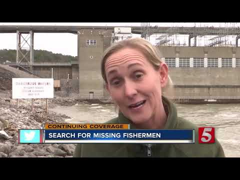 Search For Missing Fishermen At Pickwick Dam Enters Day 3