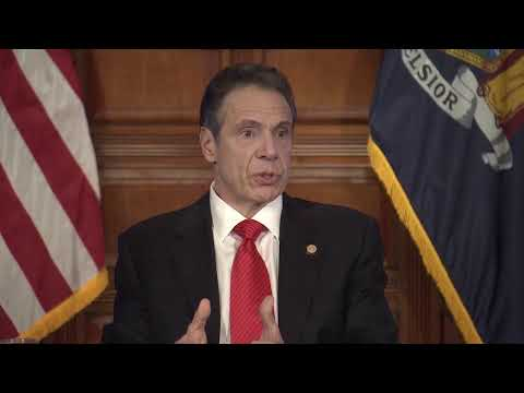 New York Governor Cuomo gives an update on the state's coronavirus fight