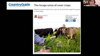 Integrating Cover Crops Webinar