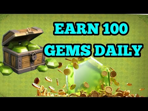 Clash of clans  (GEMS FARMING TRICK IN COC) coc