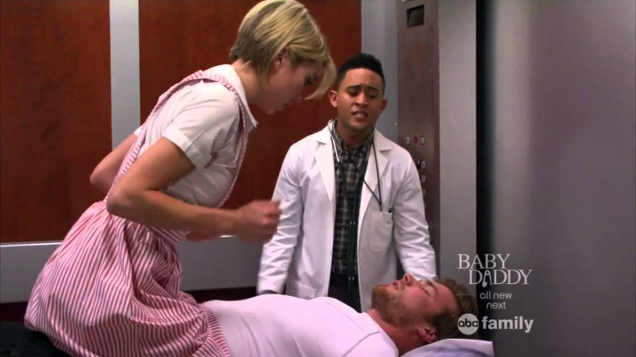 Baby Daddy 2x03 The CPR Scene YouTube