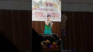 小西灣社區會堂歌唱表演(情如夢)