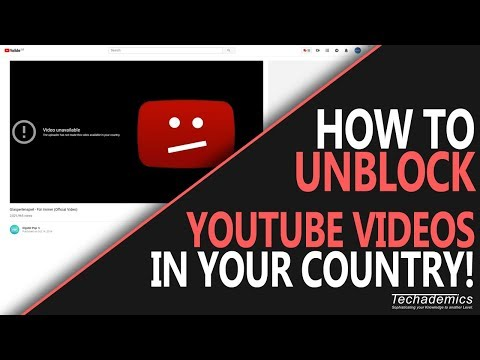 How To Watch YouTube Videos BLOCKED In Your Country *2020*