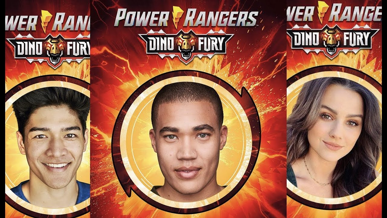 Power Rangers Dino Fury Cast Reveal and First Trailer Breakdown - YouTube