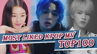 Download [TOP 100] MOST LIKED K-POP MV OF ALL TIME  • August 2018 Mp3 and Videos