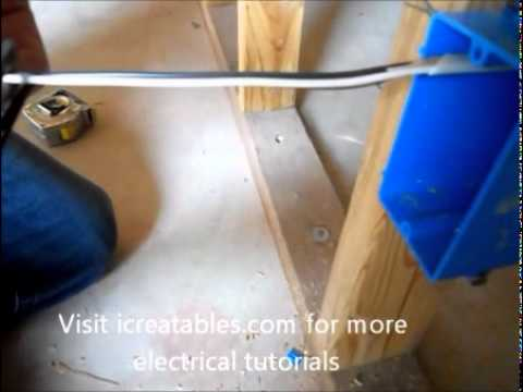 install electrical outlet in basement