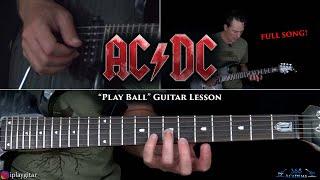 AC/DC - Play Ball Guitar Lesson