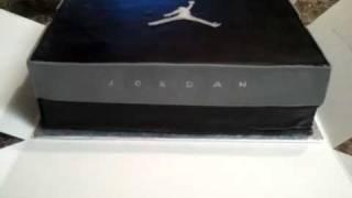 Air Jordan Box Cake