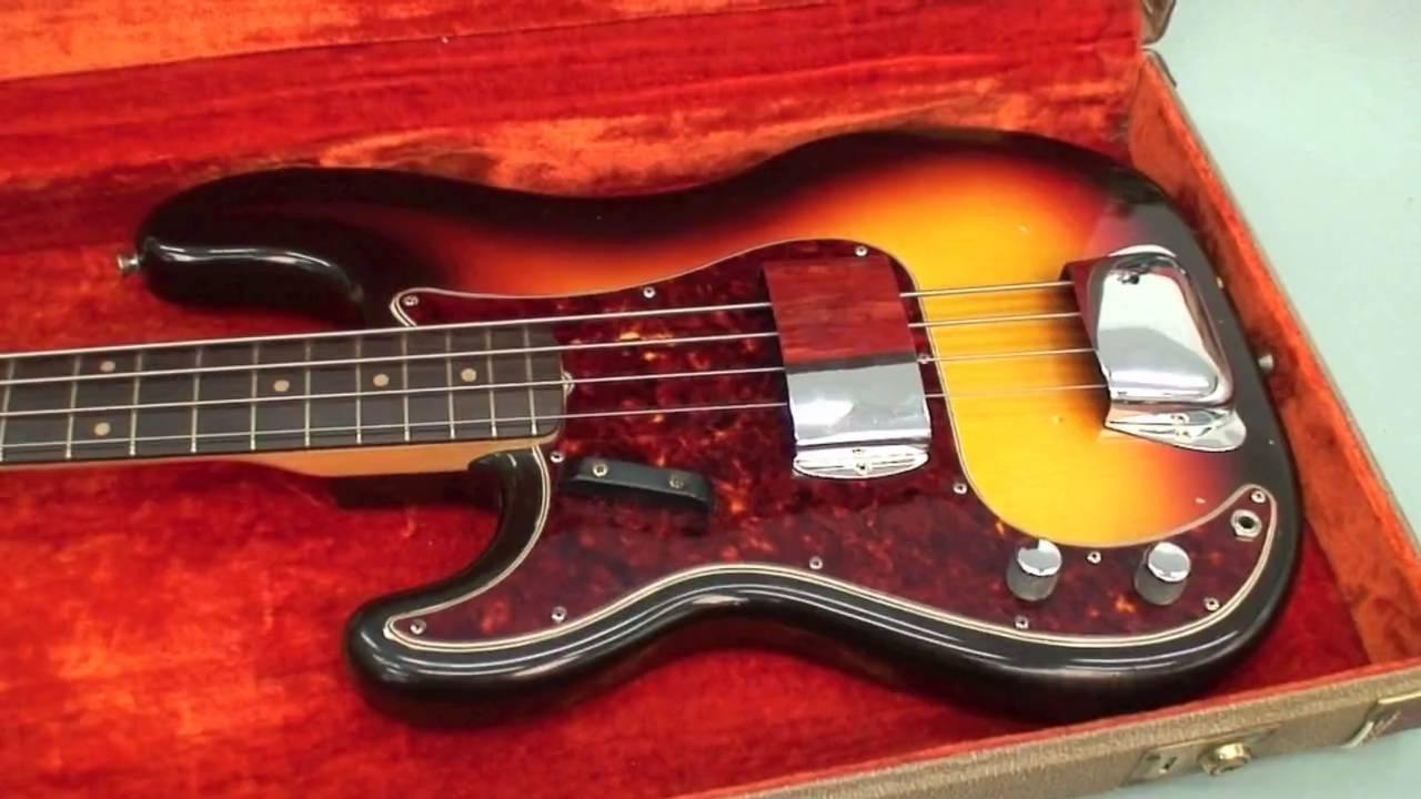 rare left handed 1960 fender precision bass youtube. Black Bedroom Furniture Sets. Home Design Ideas