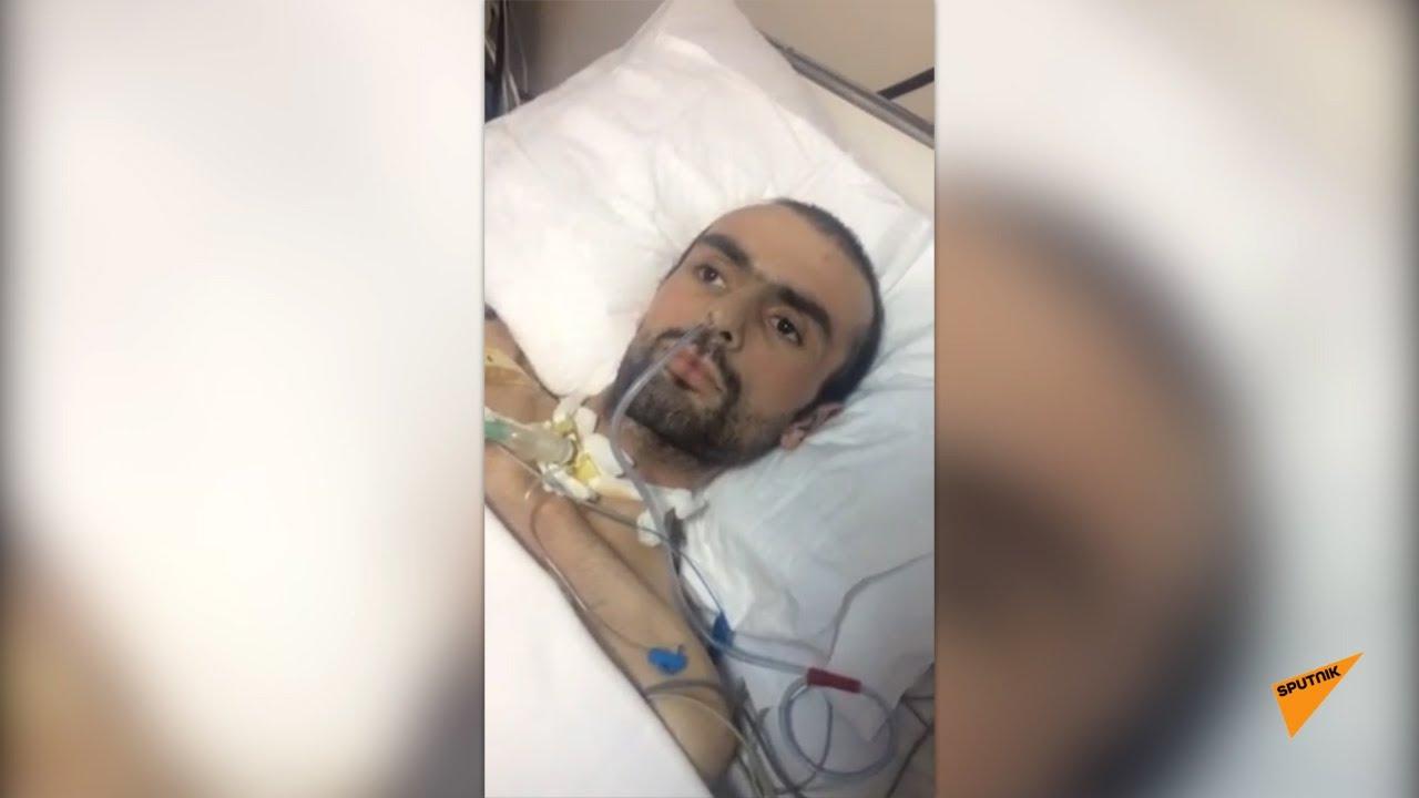 Տեսանյութ.«Աչքերից երբեմն արցունքներ են հոսում»․կաթվածահար վիճակում է. Շուշիում վիրավորված Սերգեյն օգնության կարիք ունի