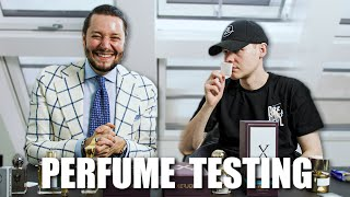 I tested 3.000€ Fragrances with UnsympathischTV (Sascha Hellinger) 💐😍