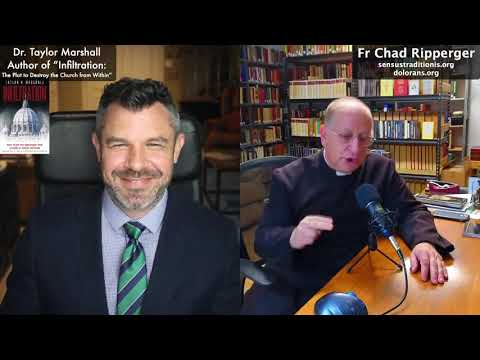 Fr Chad Ripperger and Dr Taylor Marshall Talk about Latin Mass, Latin, Exorcisms, Books, Prayer